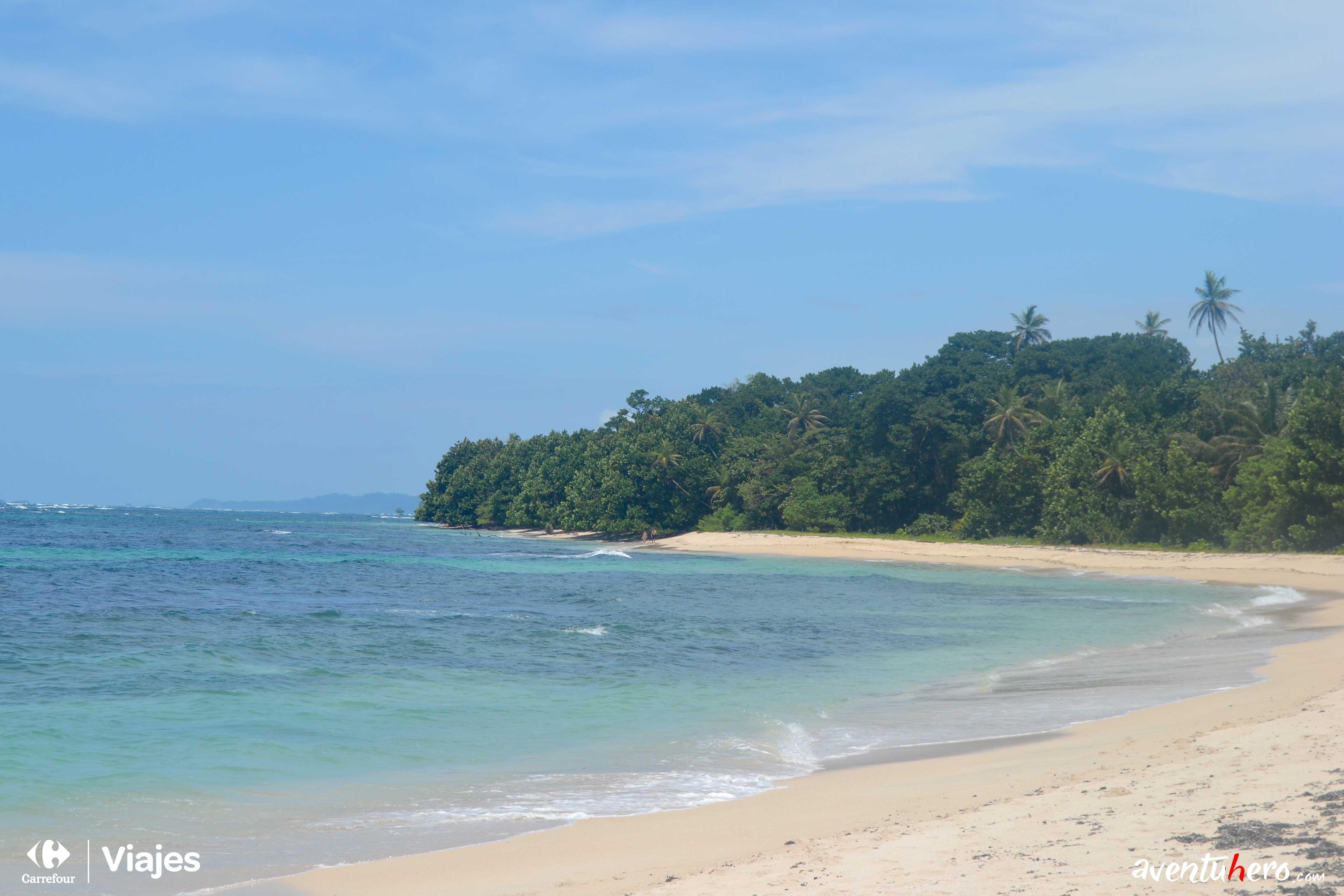 La increible playa de Cayo Zapatilla