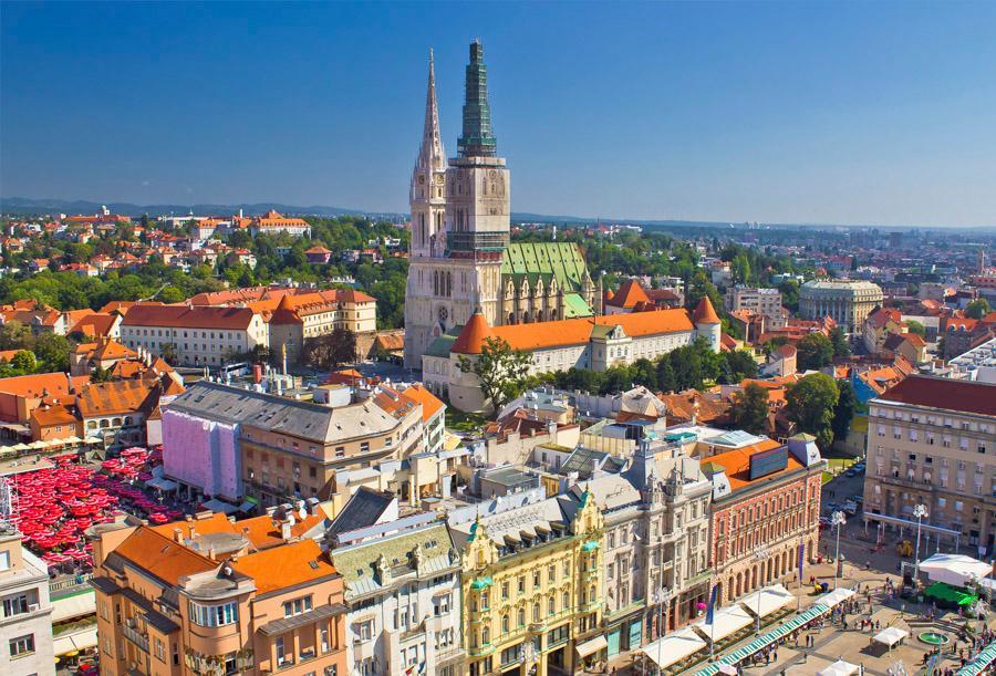 Ruta por Croacia con estilo Zagreb_catedral