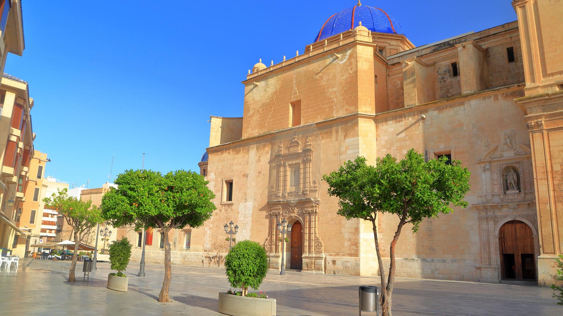 hoteles en Elche, Basílica de Santa María