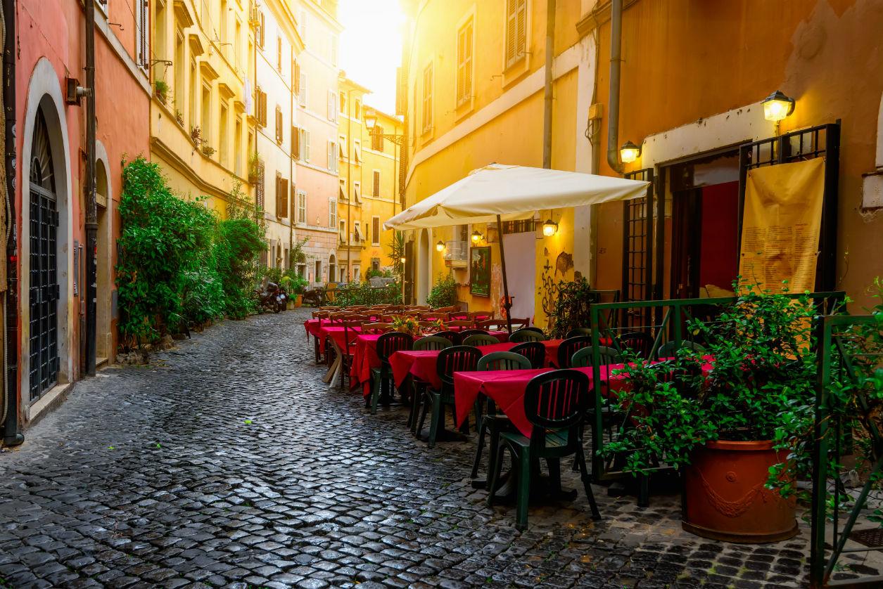 Guía rápida de Roma, Trastevere