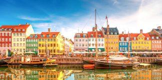 Viaje por los países bálticos, Canal Nyhavn - Copenhague