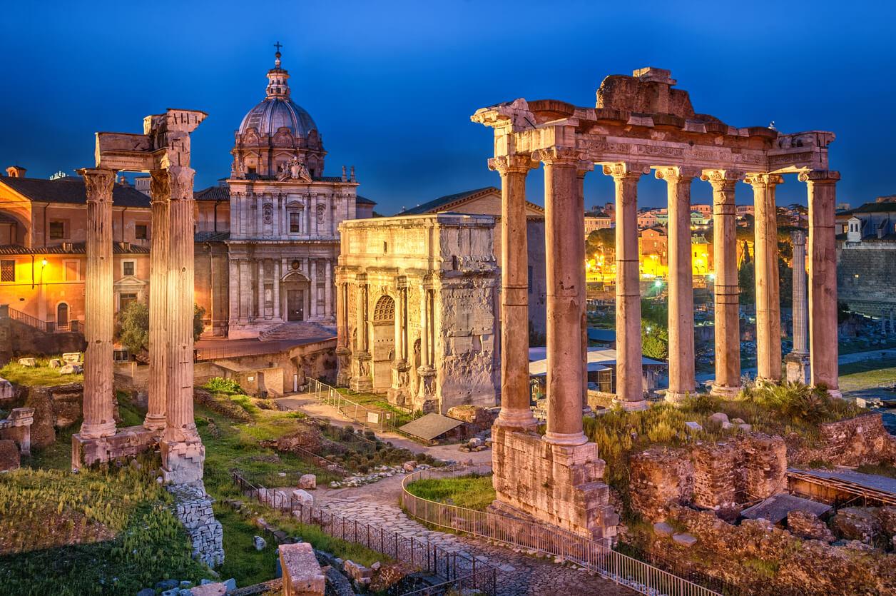 Guía rápida de Roma, Foro Romano