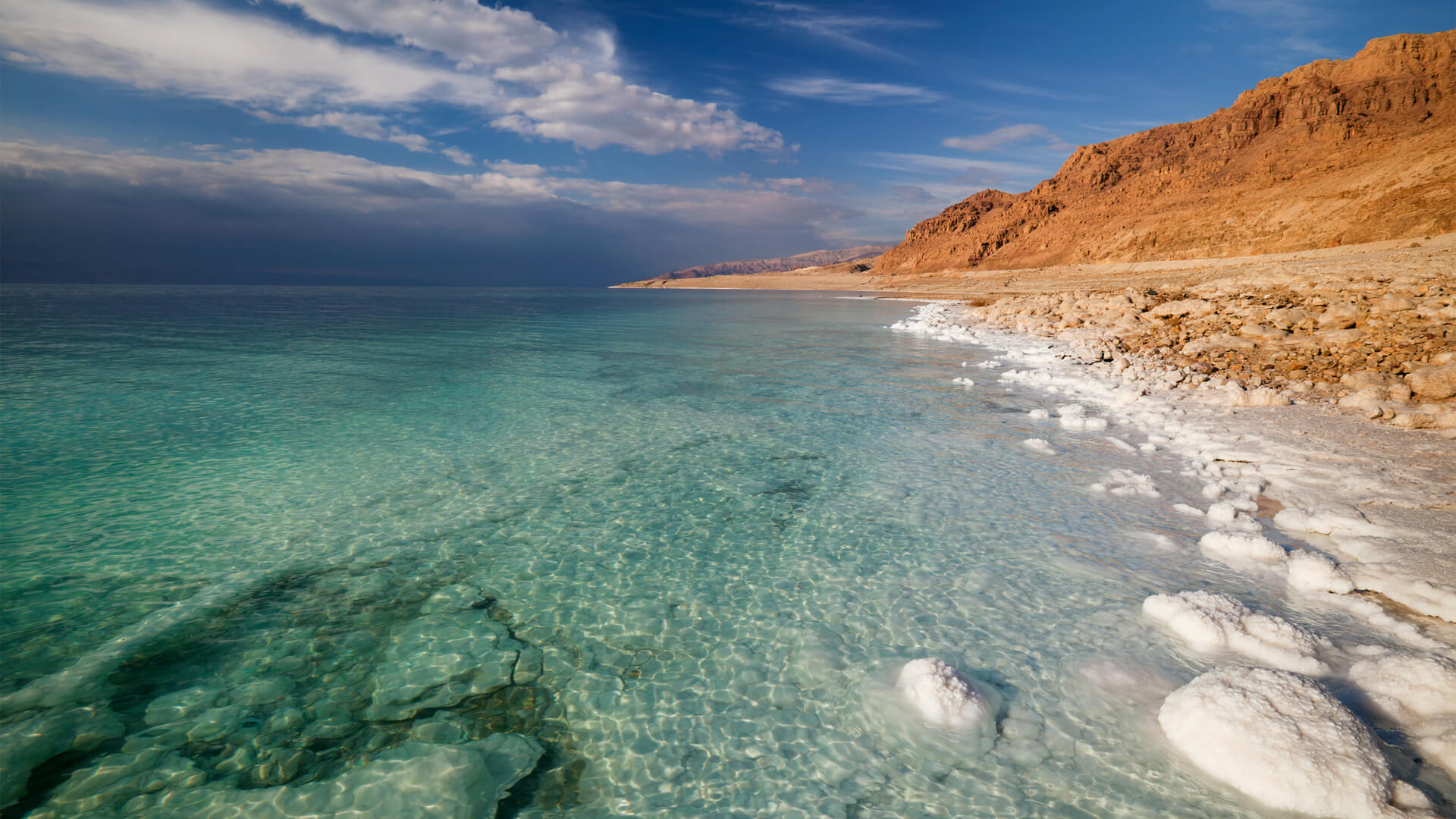 Mar Muerto, Viaje a Jordania