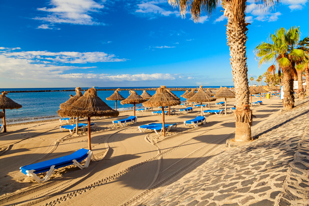 vacaciones en Tenerife, Playa de los Cristianos