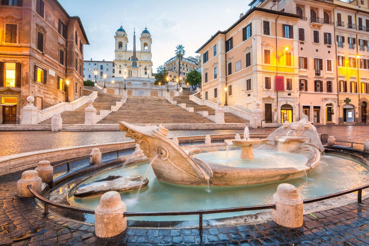 Guía rápida de Roma, Plaza de España