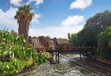parque de atracciones en verano, Port Aventura