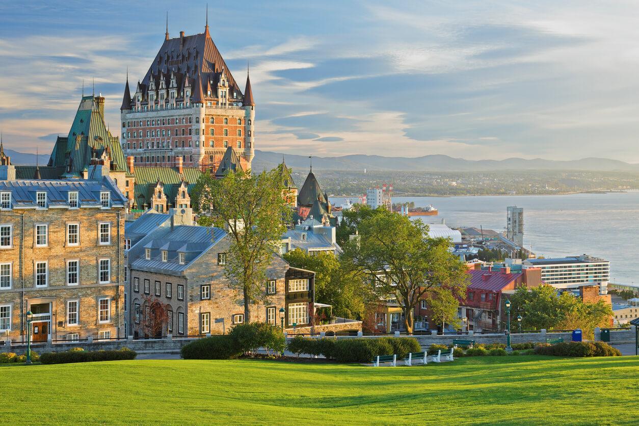 Edificios de la ciudad de Quebec