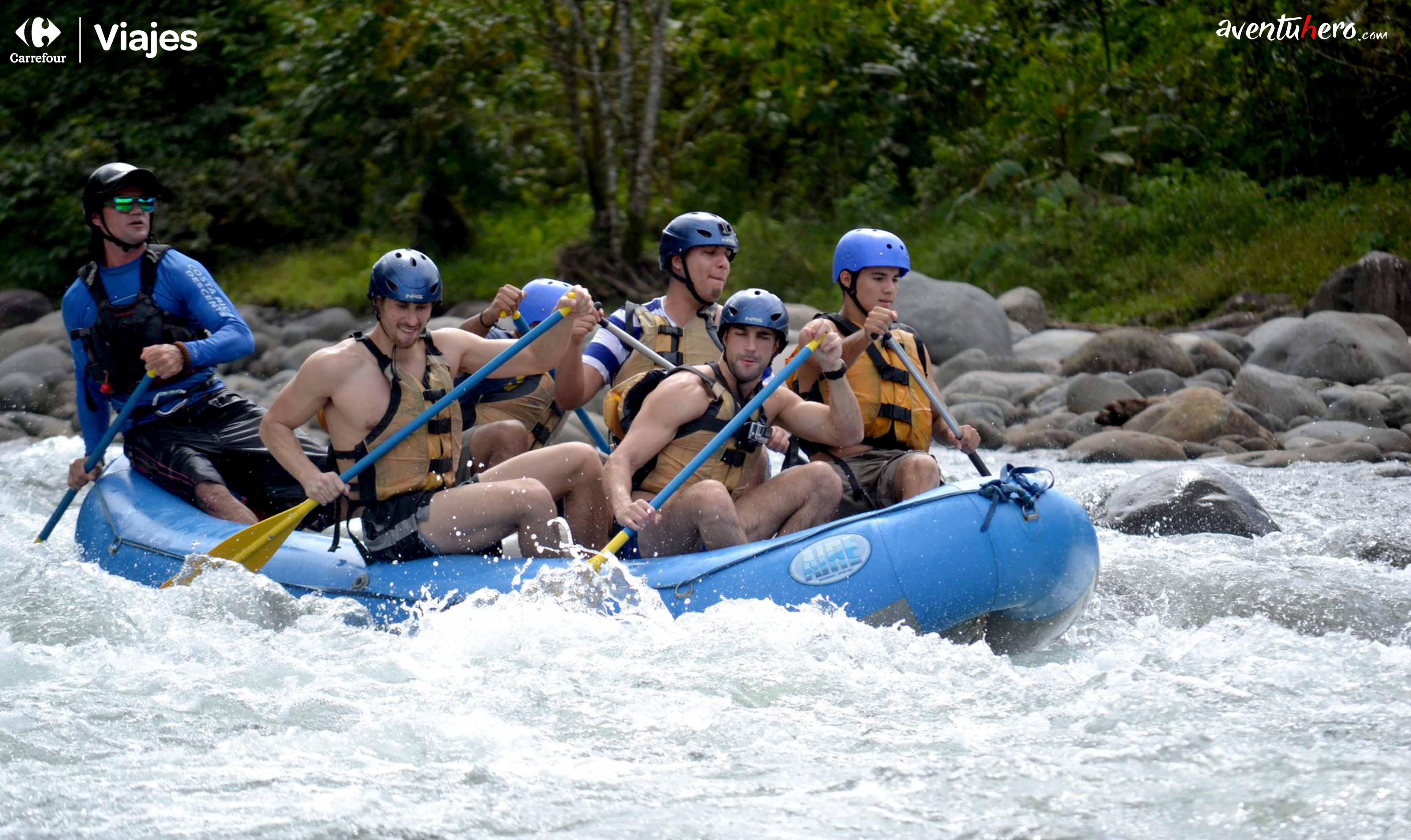 Costa Rica Rafting!
