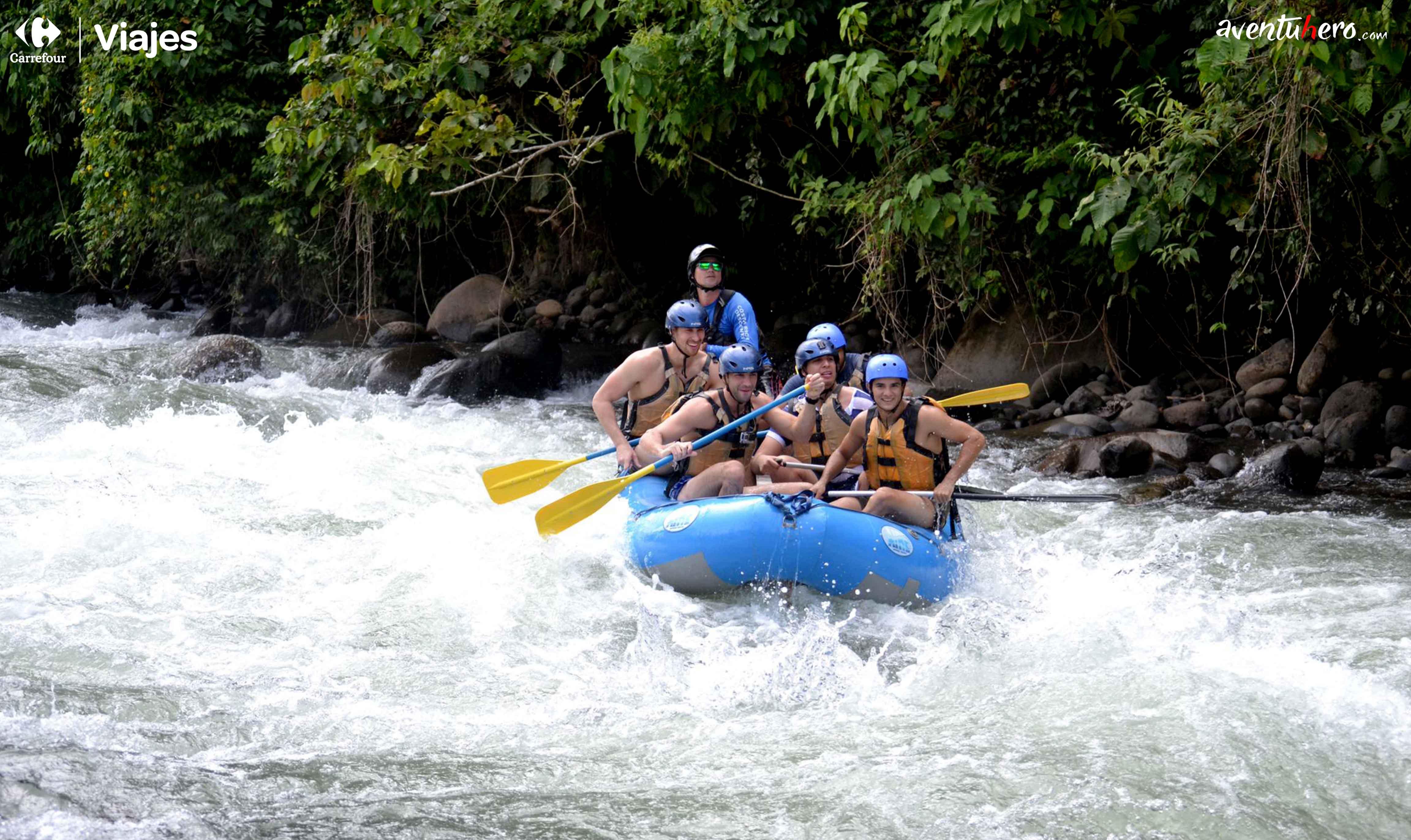 Costa Rica - Rafting rio Balsa!