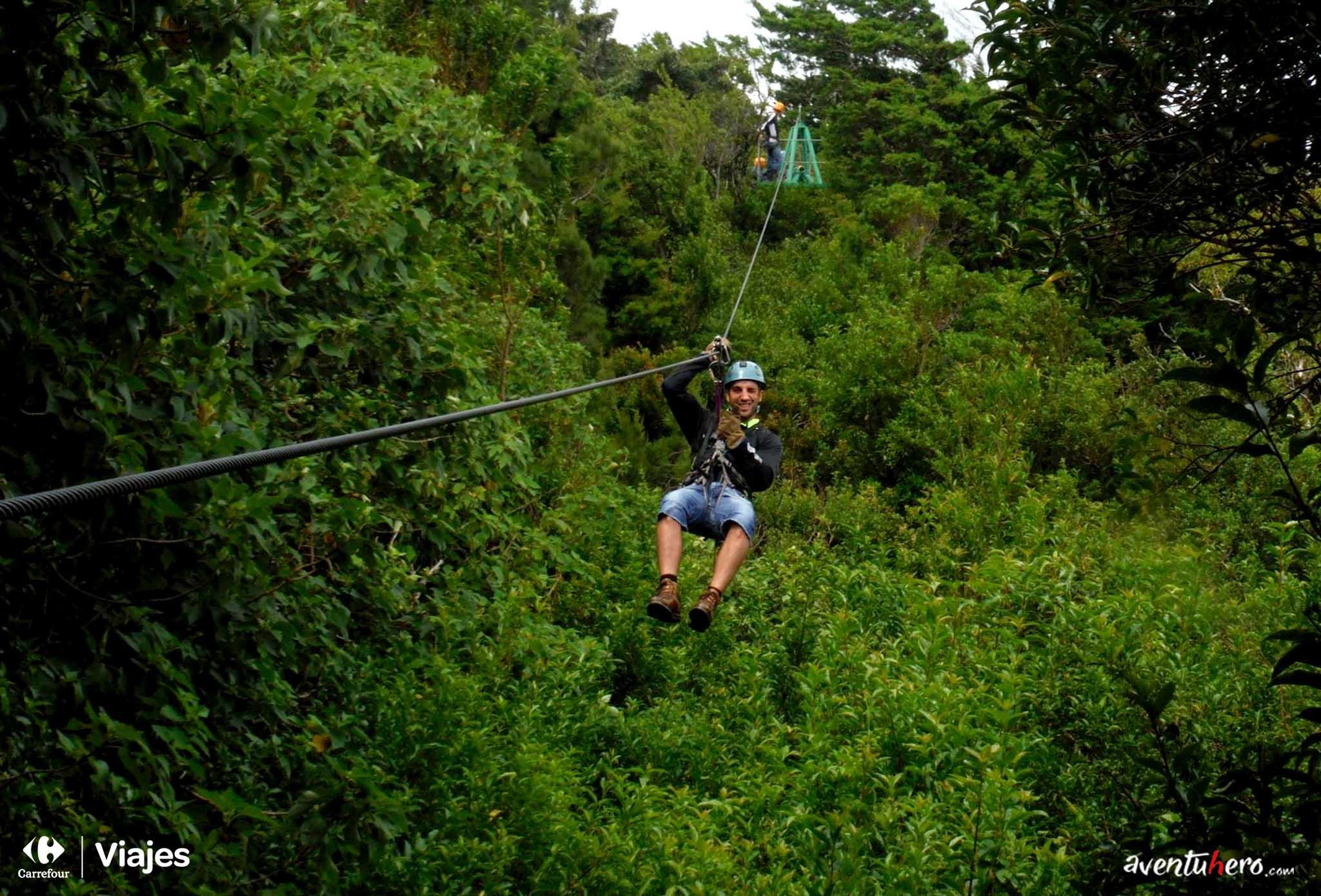 Costa Rica - Tirolinas en Monteverde