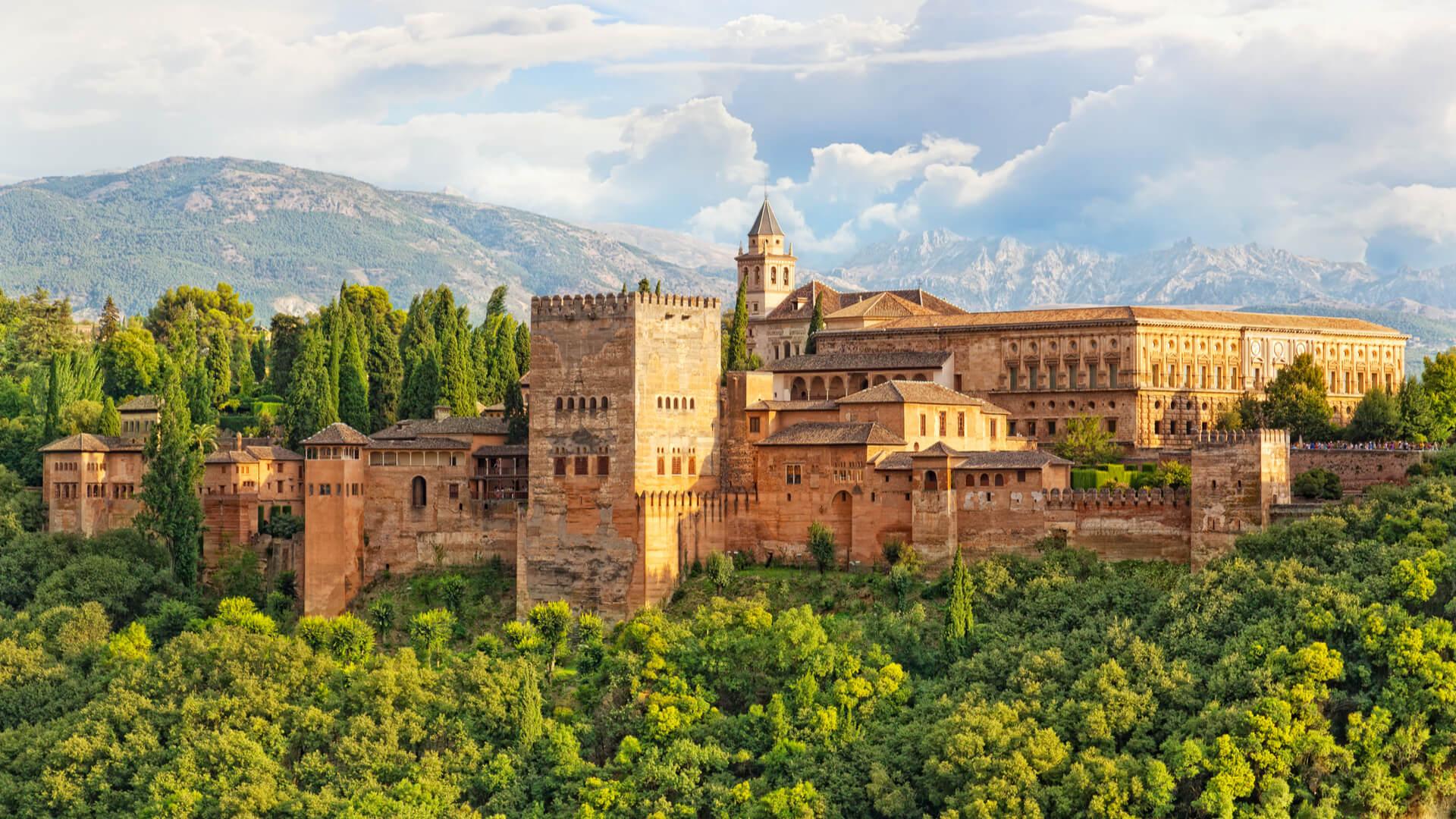 Vacaciones en Familia, Alhambra de Granada
