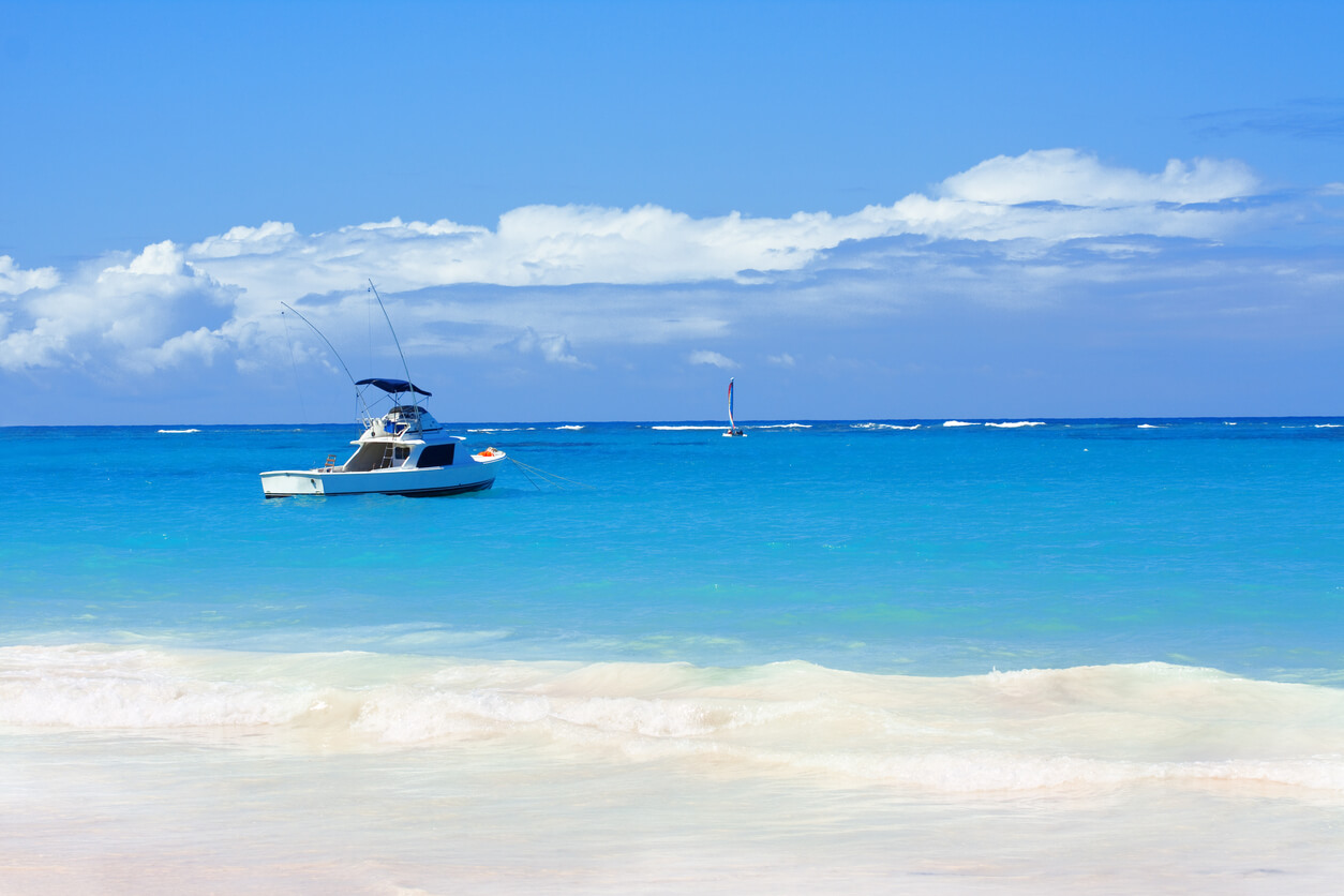 viaje a Punta Cana, Bote de pesca en Punta Cana