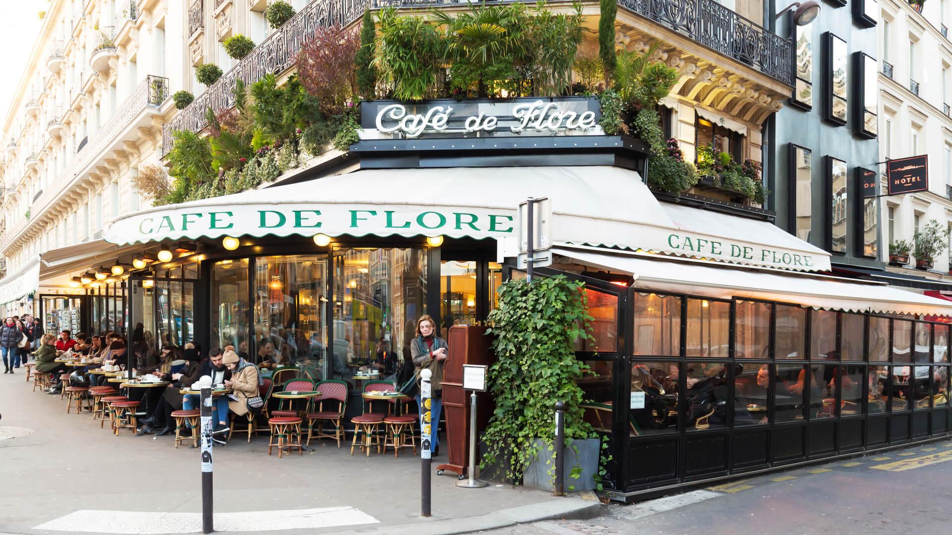 Cafe de Flore, París
