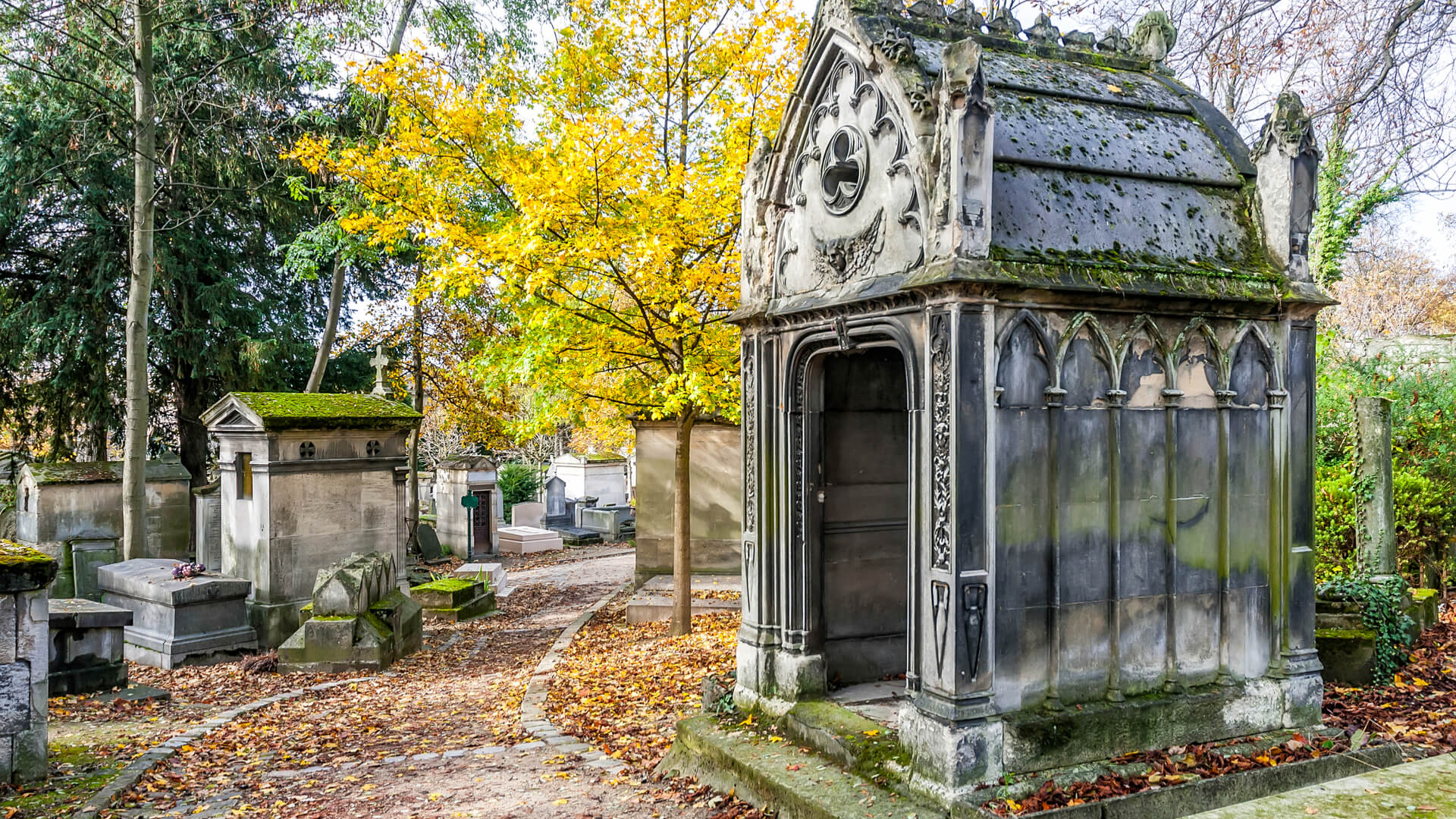 Cementerio Pere-Lachaise, París