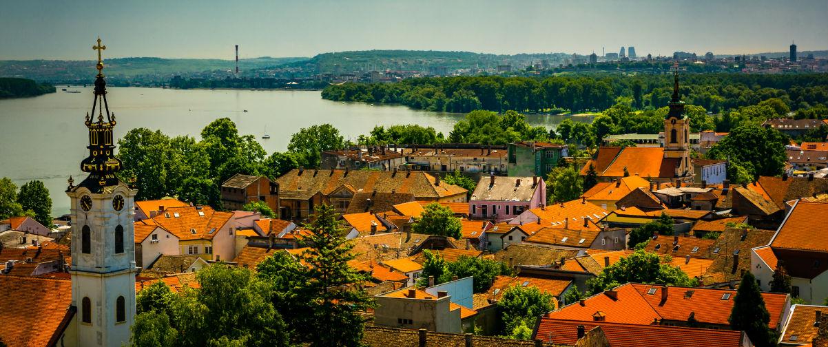 Viajar a Belgrado, Río Danubio