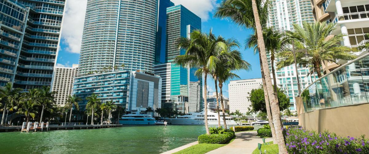 Crucero por Bahamas y Las Vegas, Downtown Miami