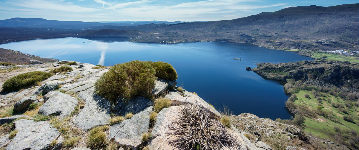 playas de interior de España, Lago de Sanabria