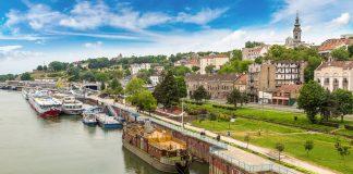 Viajar a Belgrado, Paisaje