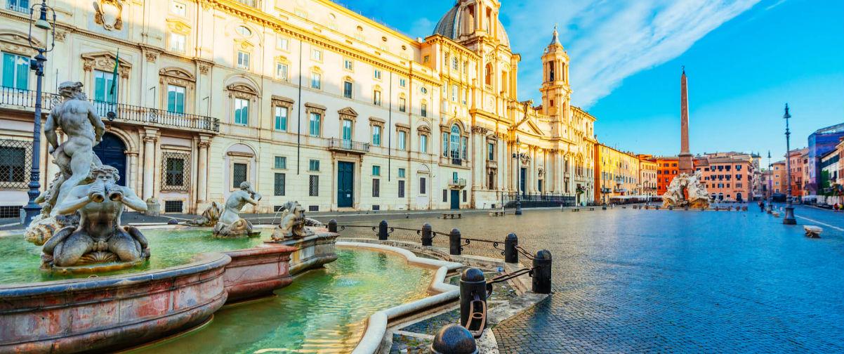 verano en Roma, Piazza Navona