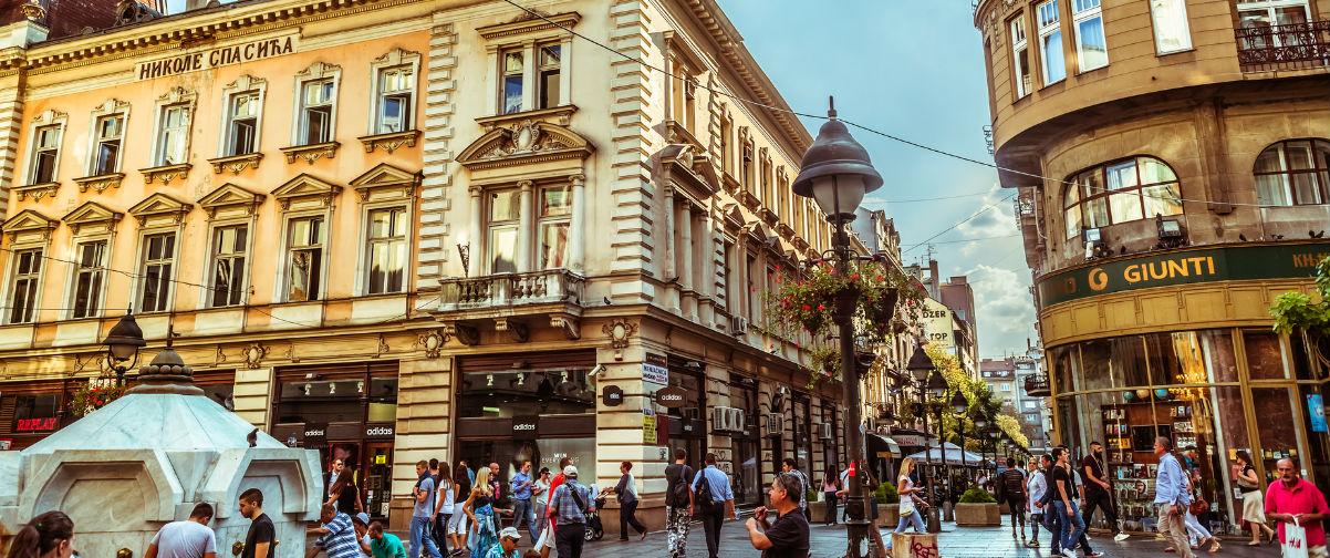 Viajar a Belgrado, Plaza de la República