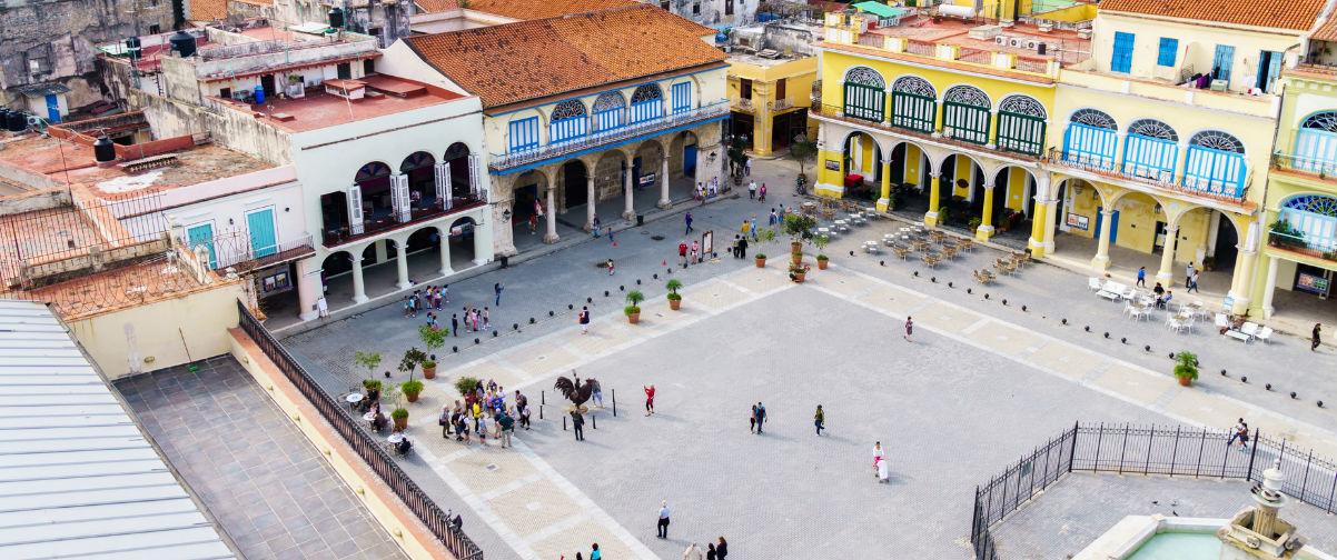 Visitar La Habana, Plaza Vieja