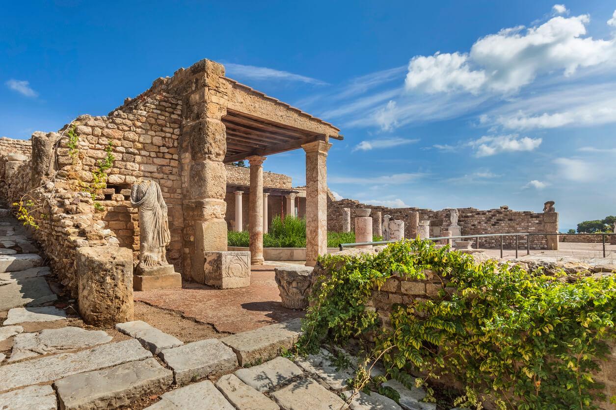 Viaje a Tunez, Ruinas cartaginesas