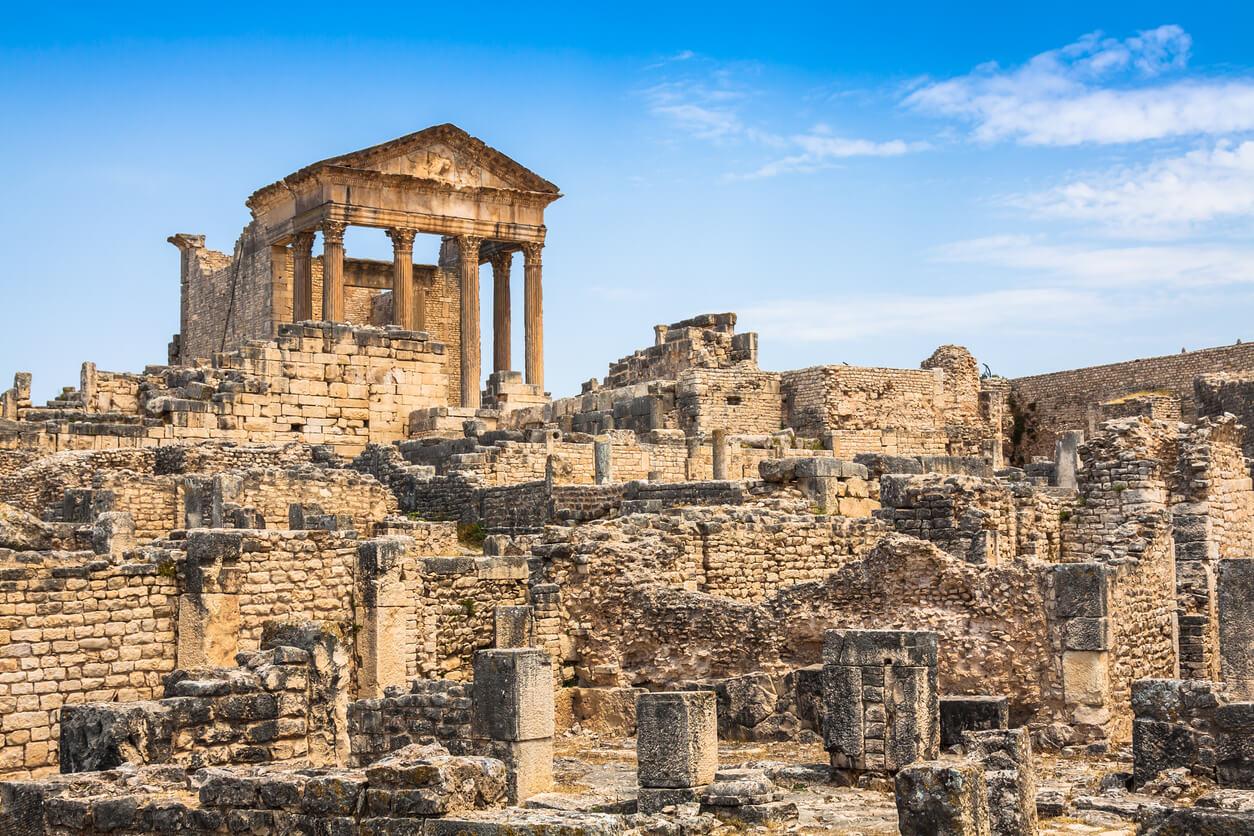 Viaje a Tunez, Ruinas Dougga