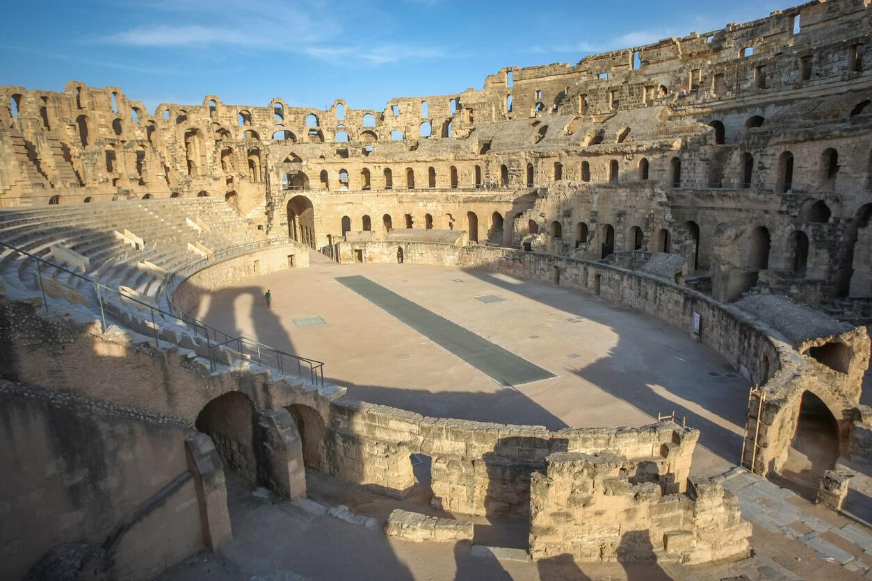 Viaje a Tunez, Ruinas romanas