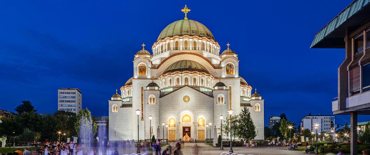 Viajar a Belgrado, Templo San Sava