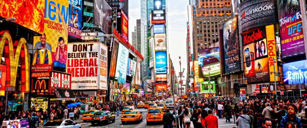 viaje de novios nueva york, Times Square