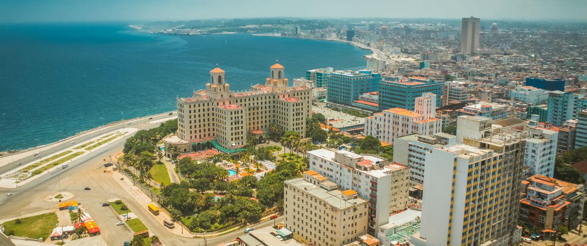 Visitar La Habana, Vista aérea de La Habana