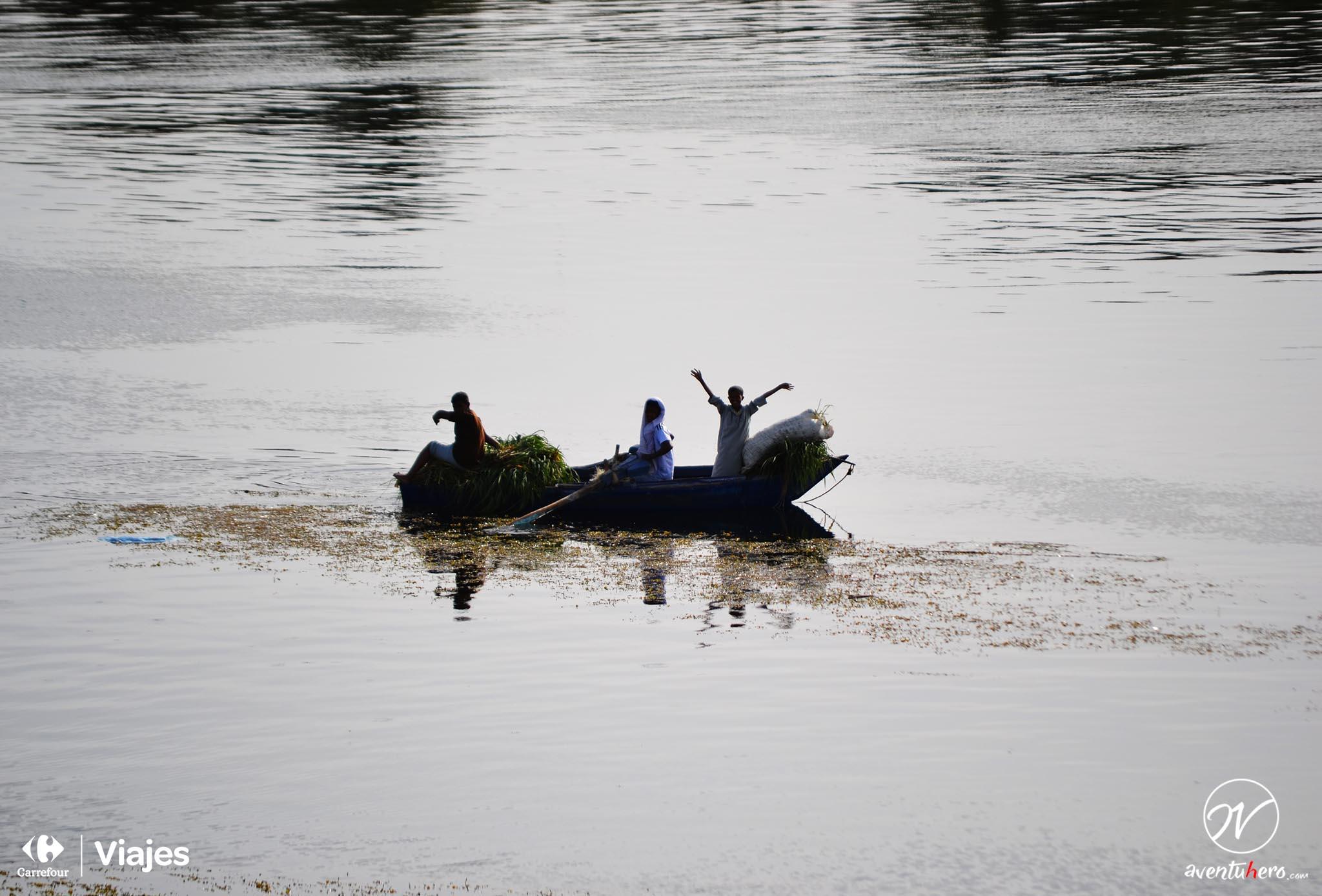 TIPS para viajar a EGIPTO - Barcas en el Nilo