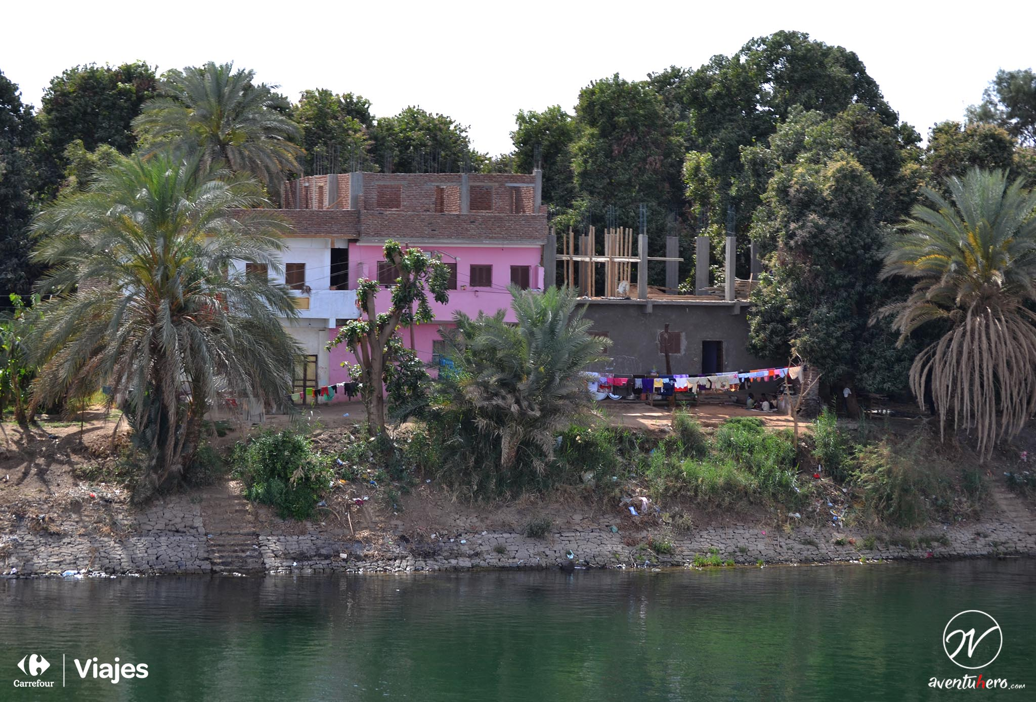 TIPS para viajar a EGIPTO - Casas en el Nilo