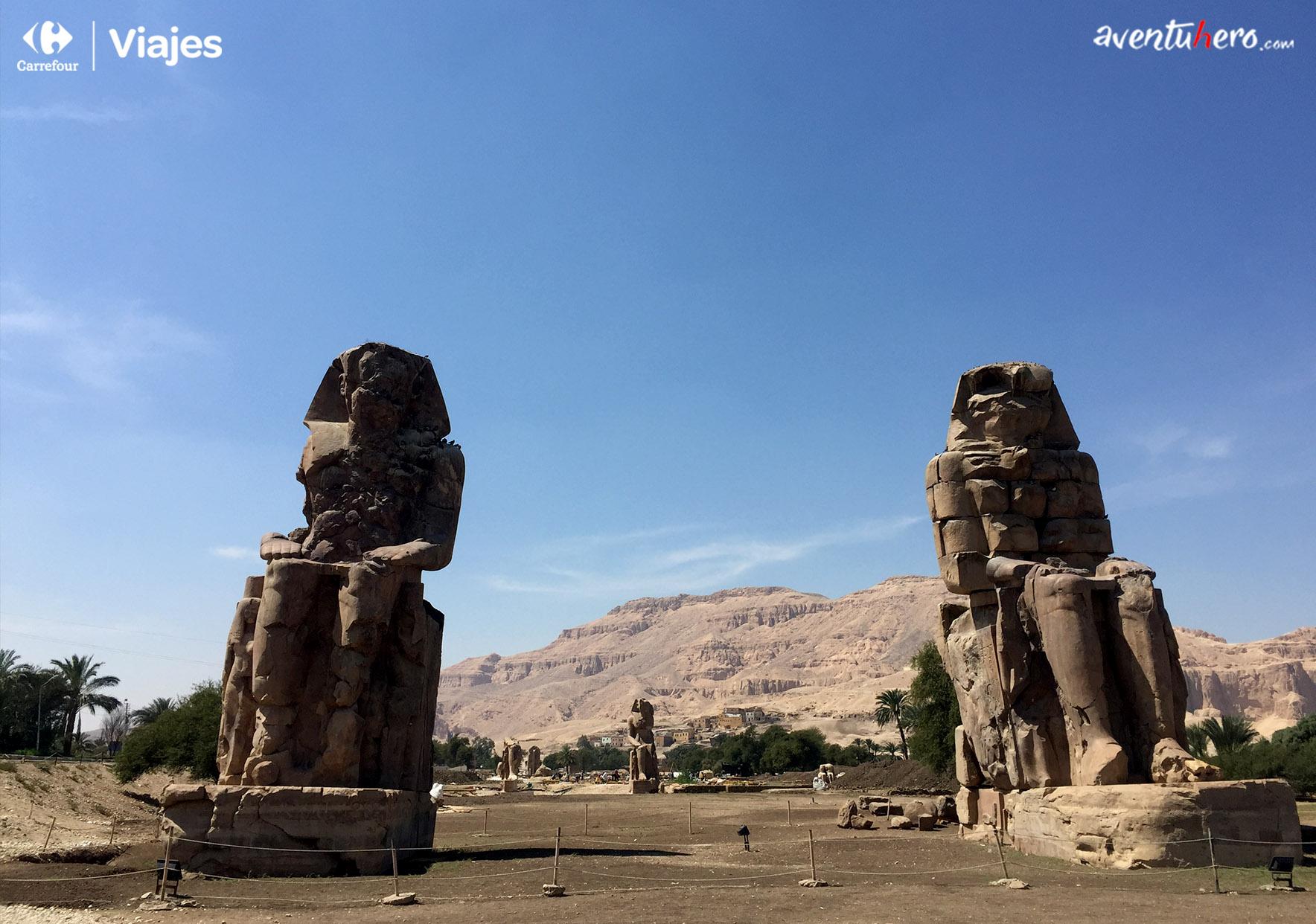 Aventuhero - Colosos de Memnon