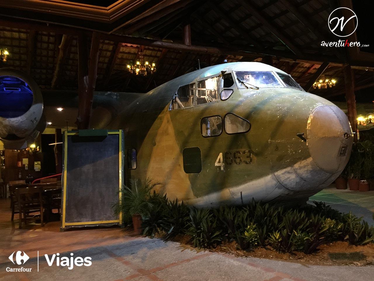 El Avión, un restaurante de altura