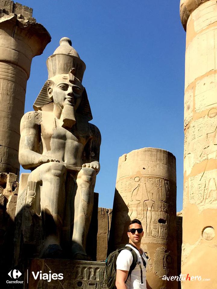 Aventuhero - En el corazón del Templo de Luxor