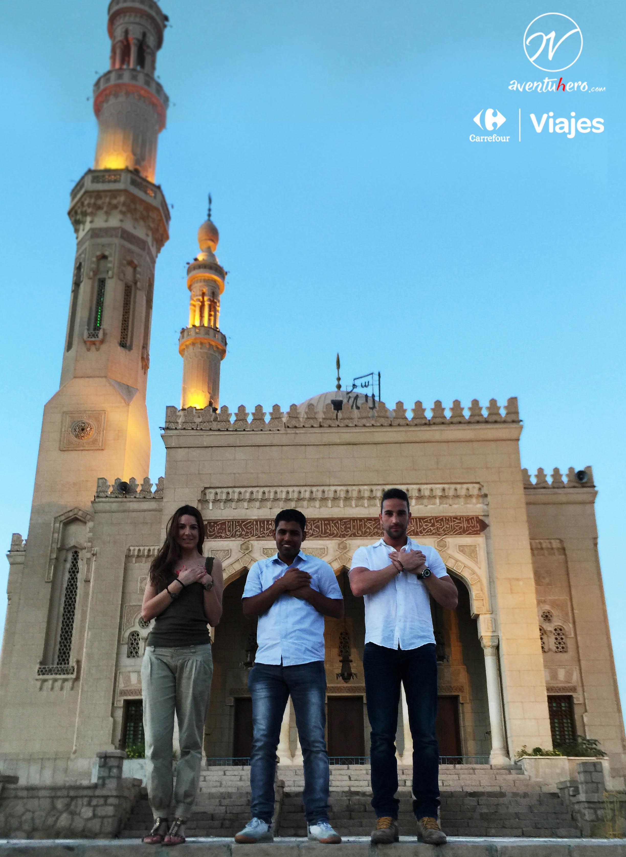 Aventuhero - Por la mezquita de Asuán
