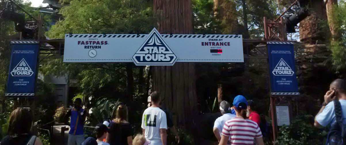 secretos de Discoveryland, Star Tours