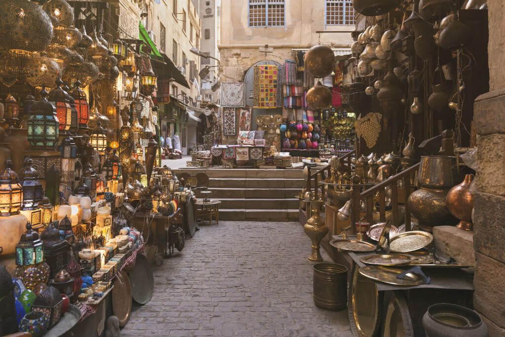 Guía Rápida El Cairo, Bazar Khan Al-Khalili