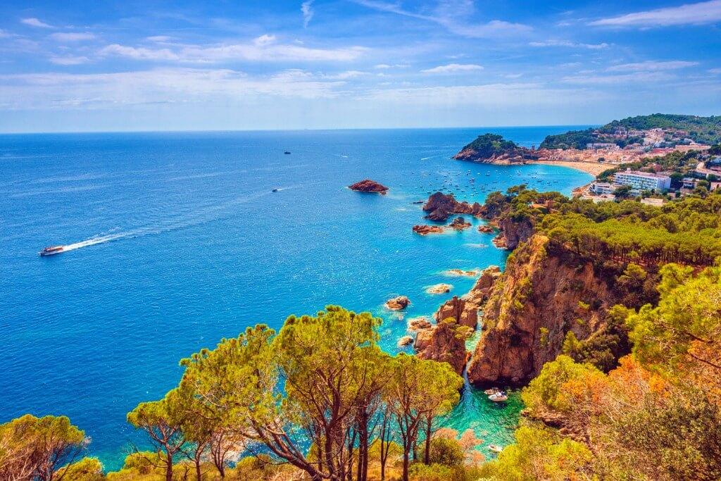 De Barcelona a Mónaco, Tossa de Mar