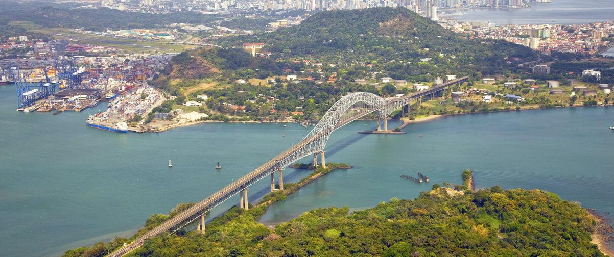 viaje a Panamá, Canal de Panamá