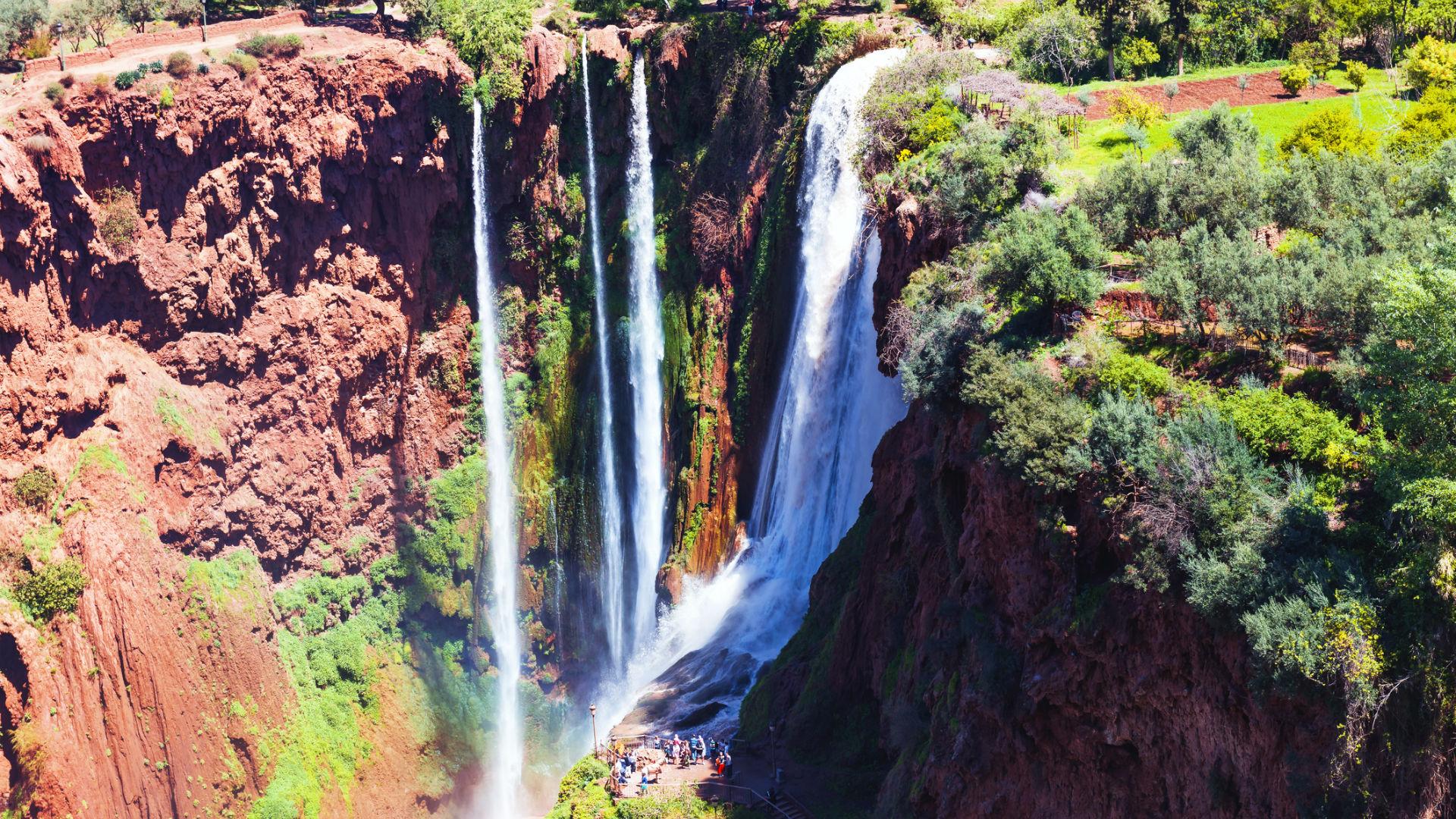 cascadas ouzoud marruecos