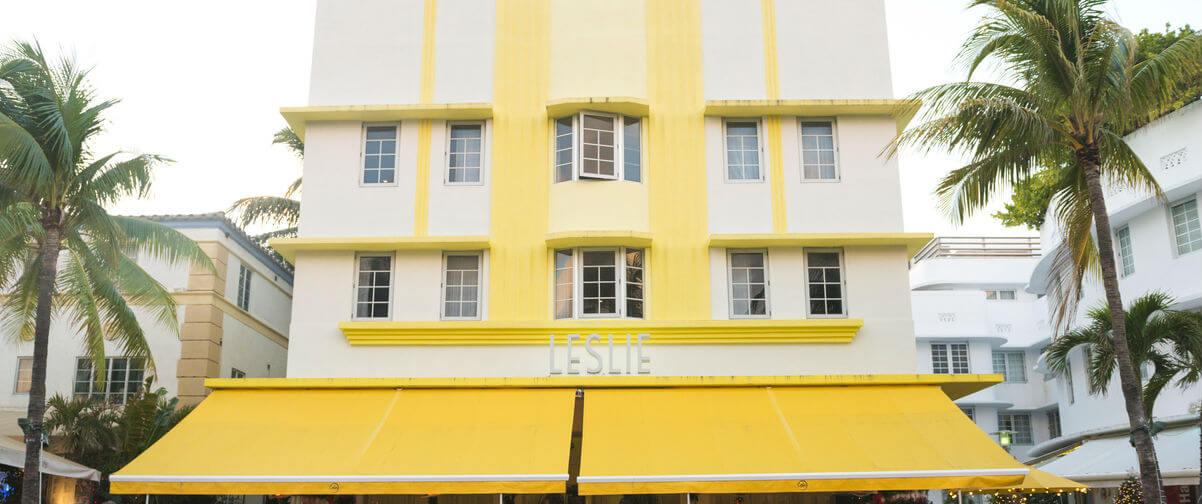 Distrito Art Decó, Leslie Hotel