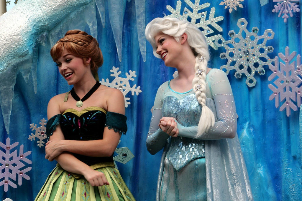 Frozen, Anna y Elsa de Frozen