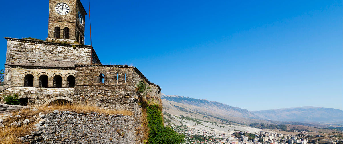 viaje a Albania, Fortaleza en Girokastra