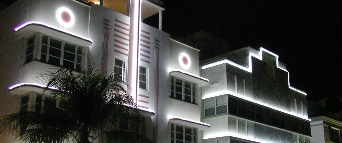 Distrito Art Decó, Hotel estilo Art Decó