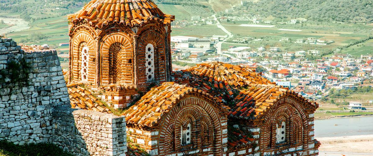viaje a Albania, Iglesia San Teodoro, Berat