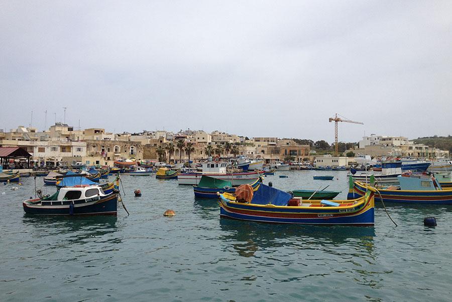 Malta con niños