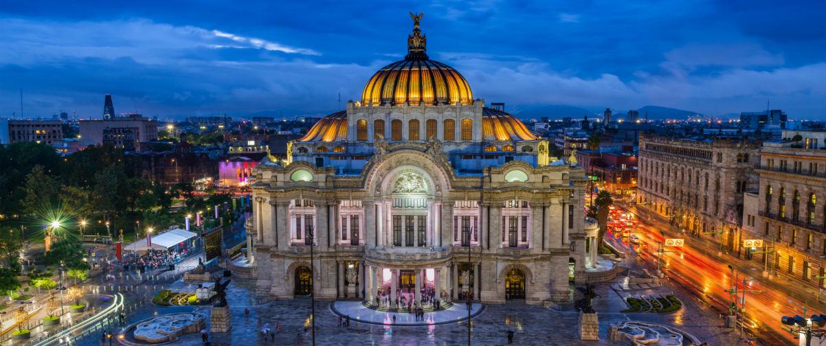Destinos para jubilados, Palacio de Bellas Artes