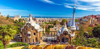 de Barcelona a Monaco, Parque Guell